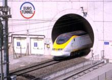 Tunnel sous la Manche côté français