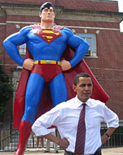 Barack Superman
