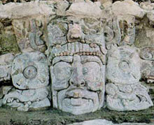 Site Inca d'Edzna